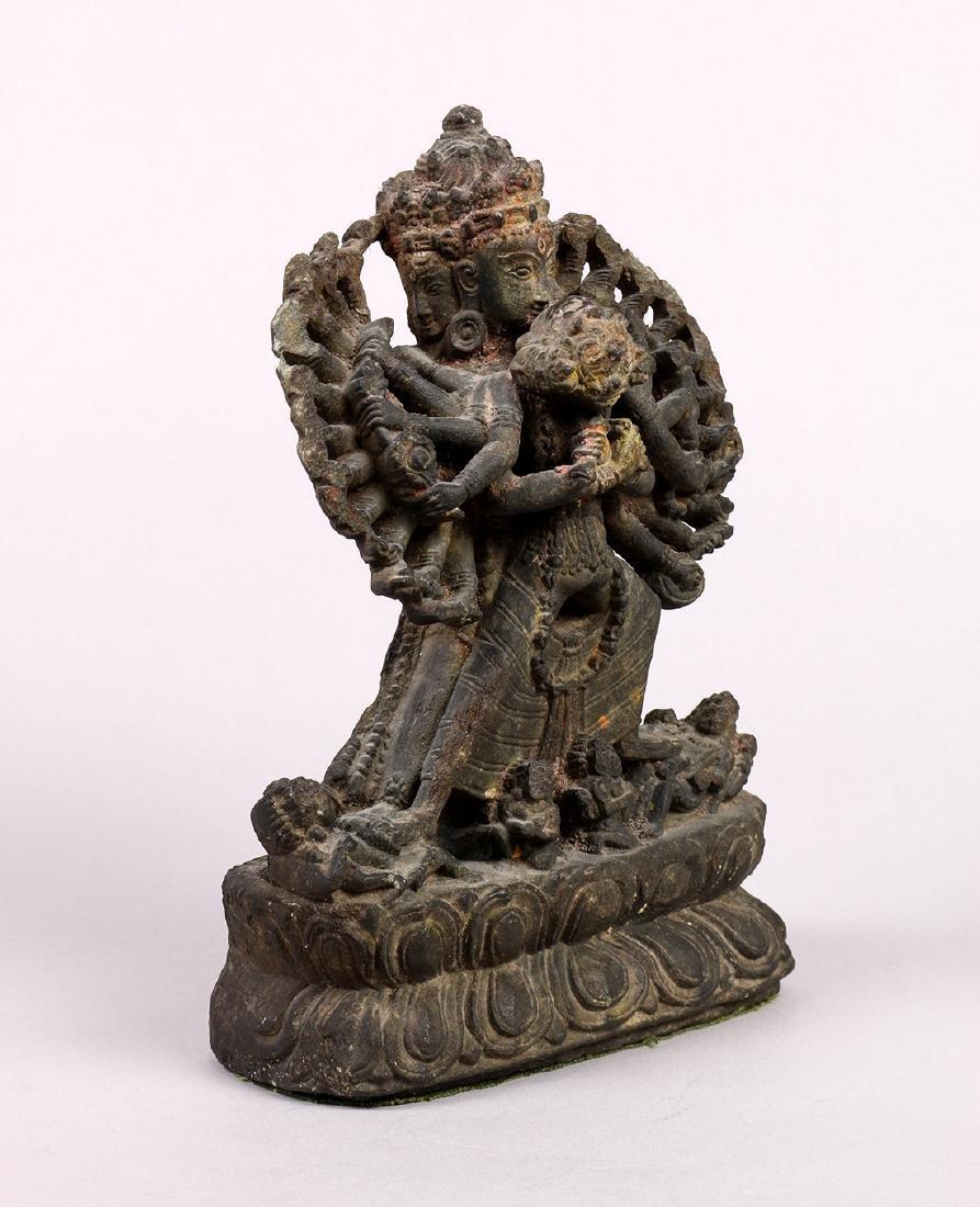 Himalayan Buddhist Stone Sculpture - 3