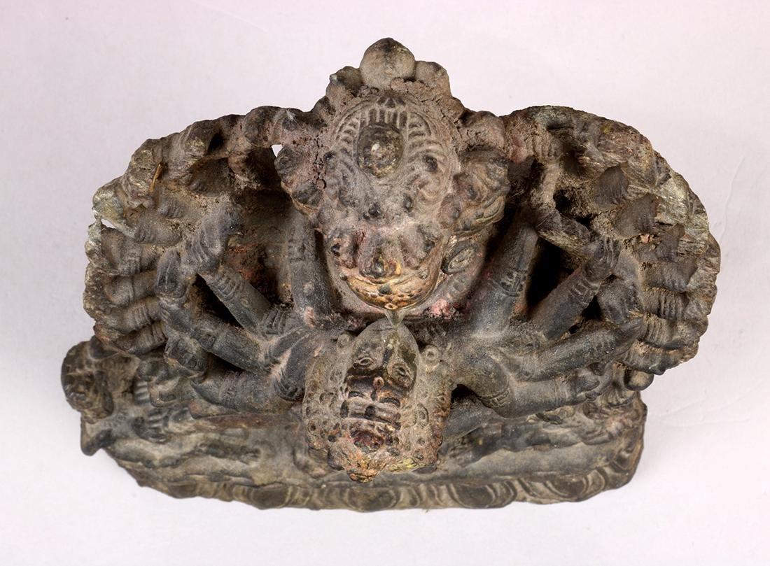 Himalayan Buddhist Stone Sculpture - 8