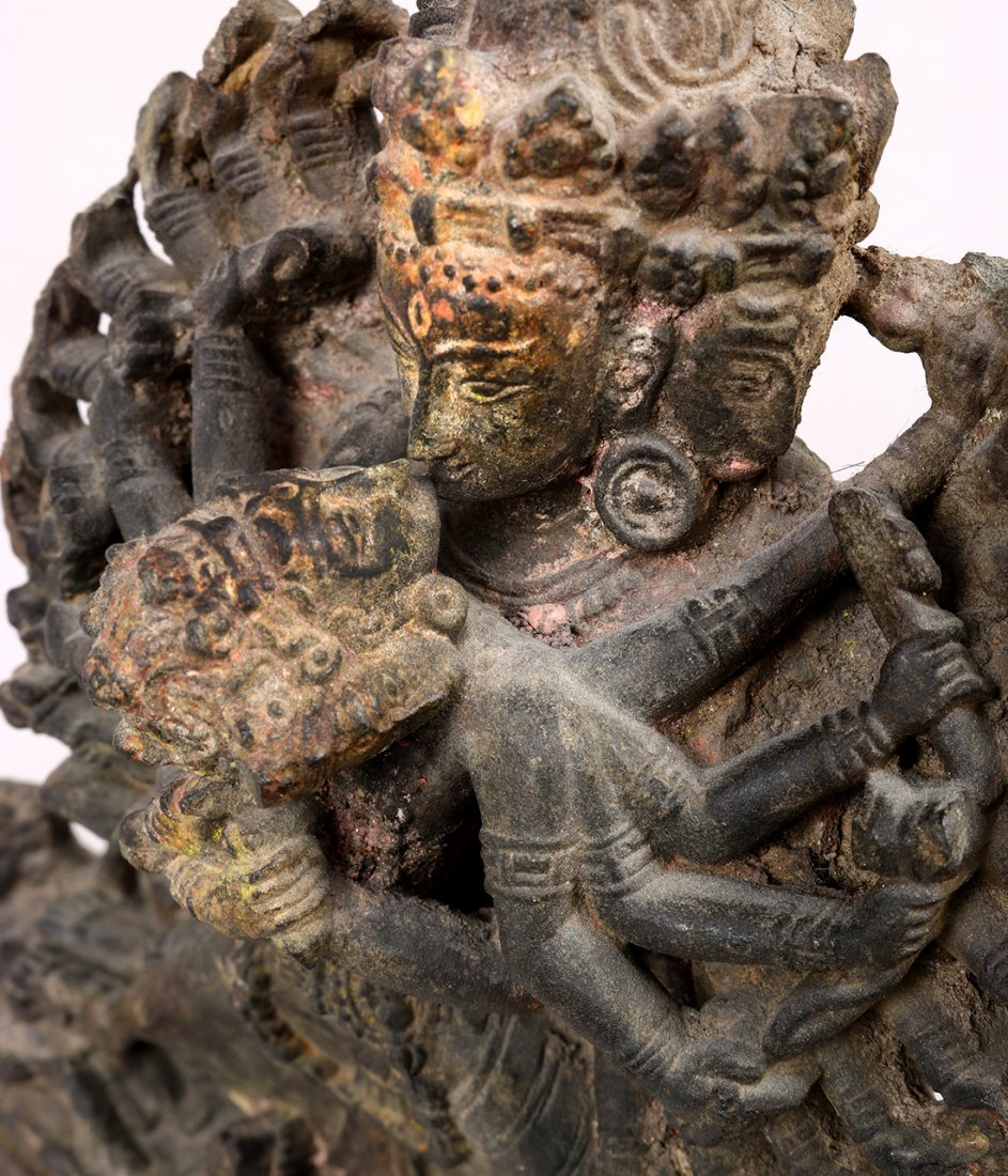 Himalayan Buddhist Stone Sculpture - 9