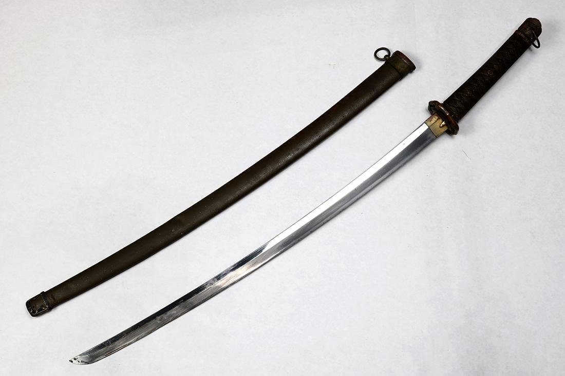 Japanese Katana, Gunto