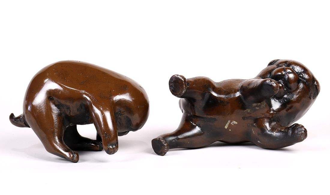Japanese Bronze Puppies - 5