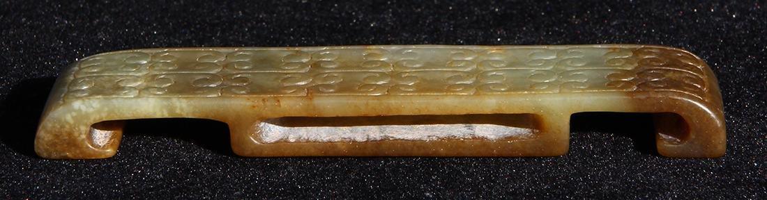 Chinese Carved Sword Slide - 4