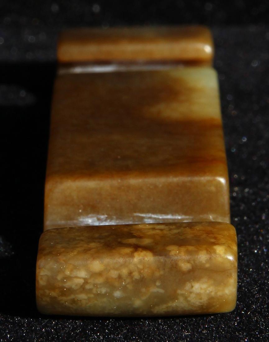 Chinese Carved Sword Slide - 5