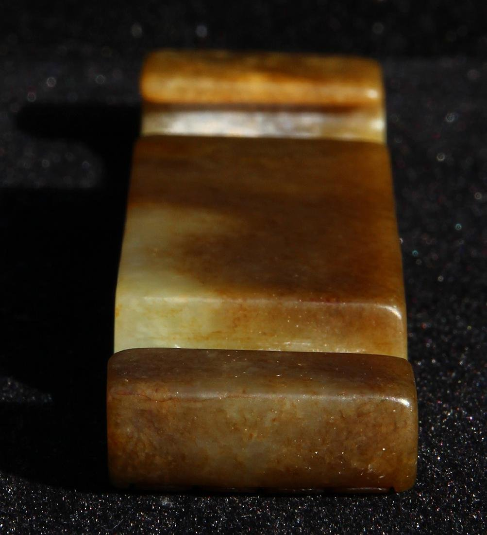 Chinese Carved Sword Slide - 6