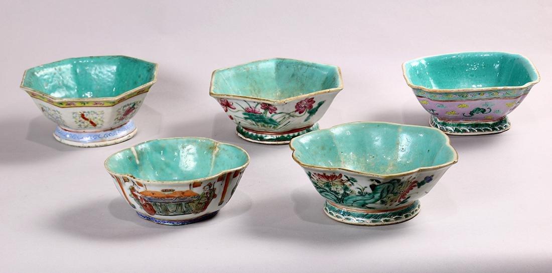 Chinese Enameled Bowls
