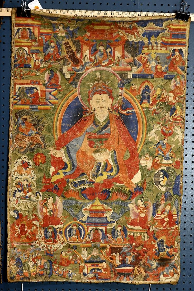 Himalayan Thangka, Padmasambhava