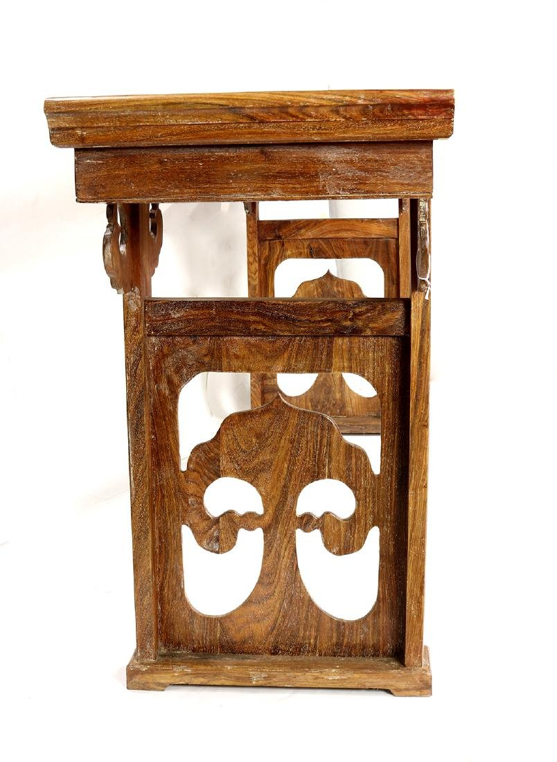 Chinese Wooden Altar Table - 3