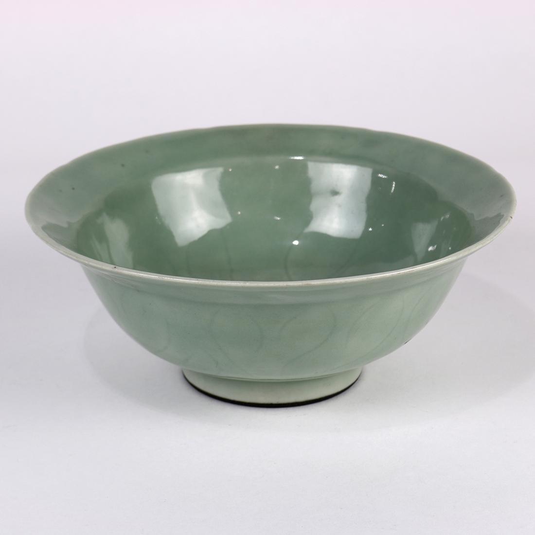 Chinese Celadon Glazed Bowl - 3