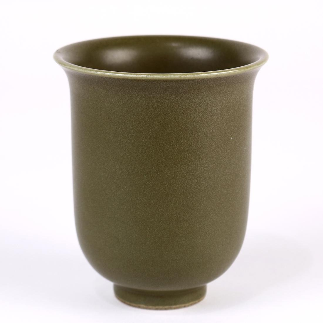 Chinese Teadust Glazed Cup