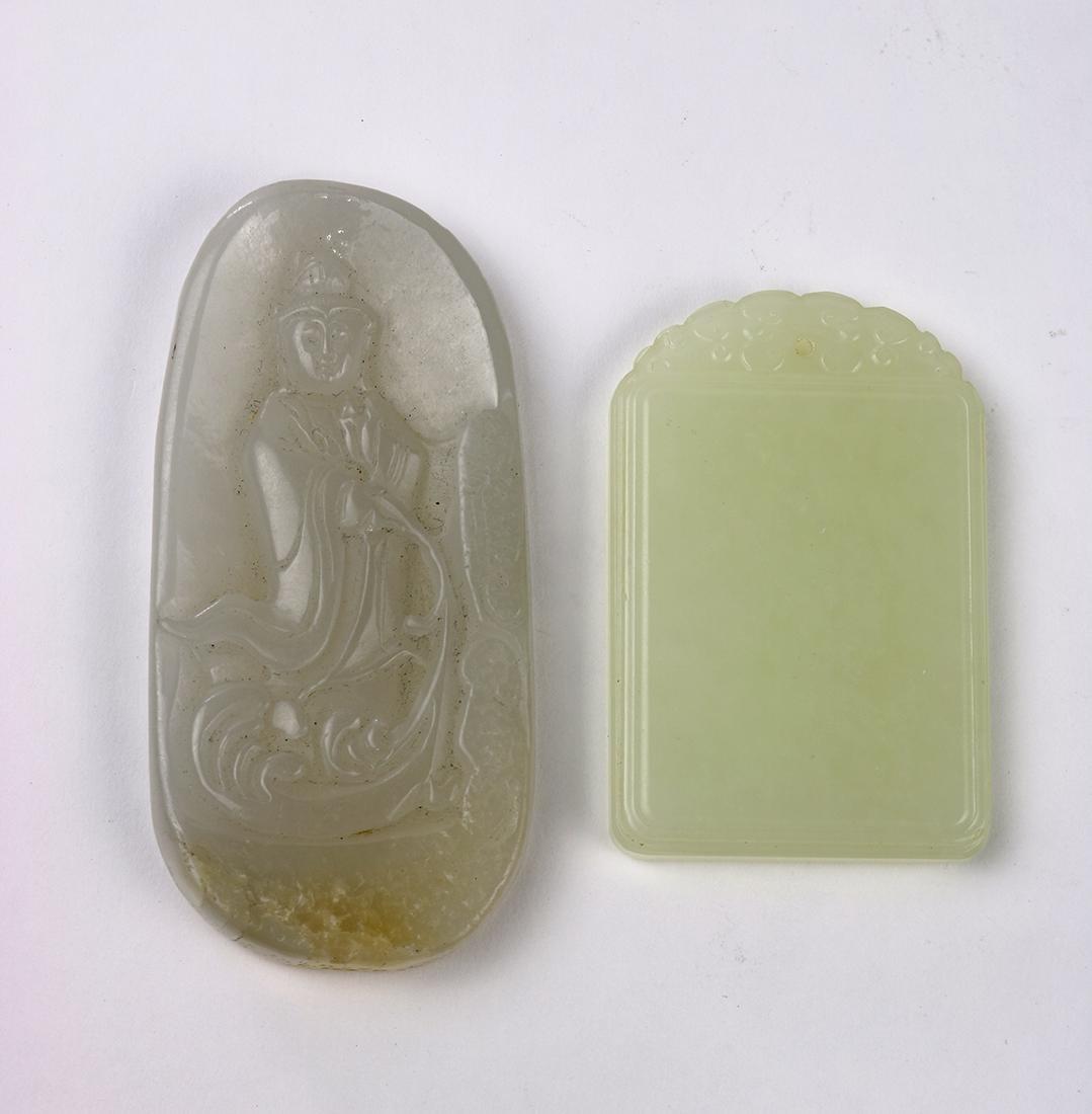 Chinese Jade/Hardstone Plaques