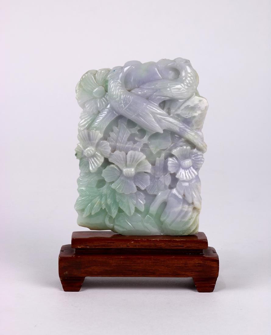 Chinese Jadeite Sculpture, Birds