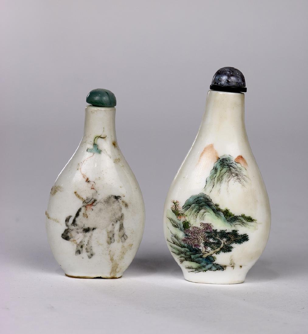 Chinese Porcelain Snuff Bottles - 2
