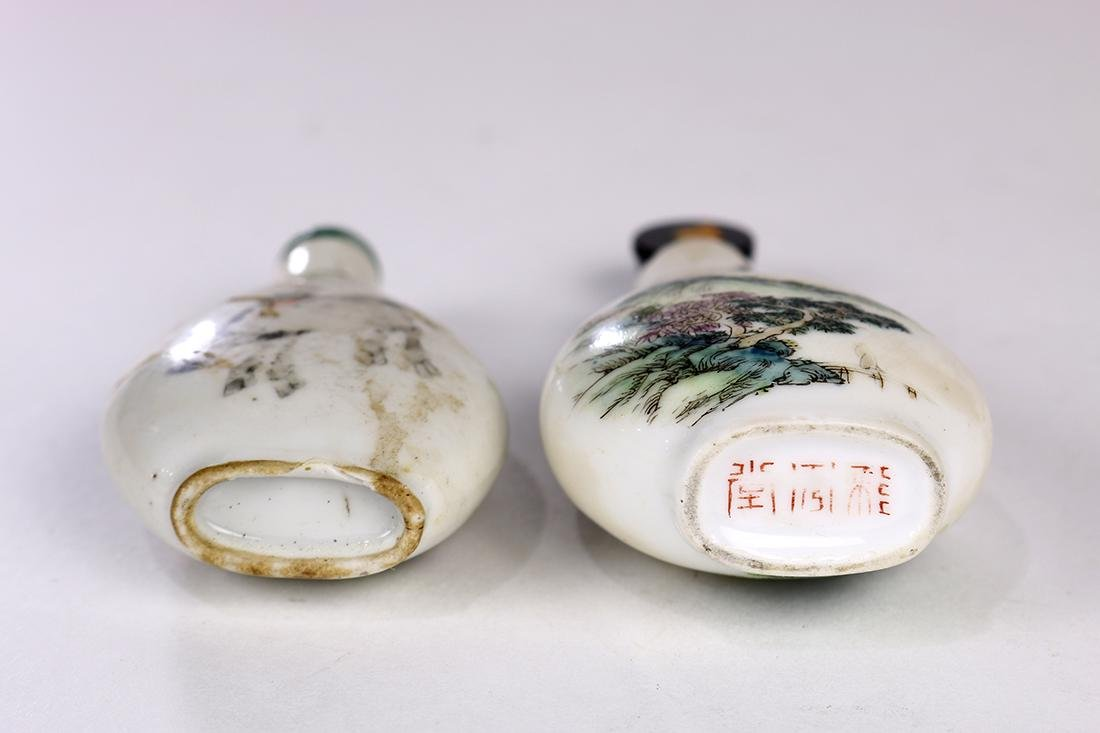 Chinese Porcelain Snuff Bottles - 3