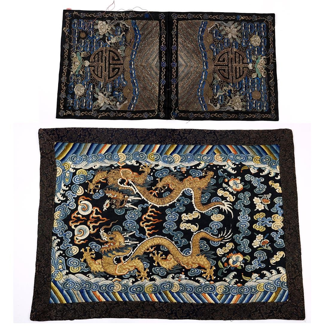 Chinese Embroidered Panels
