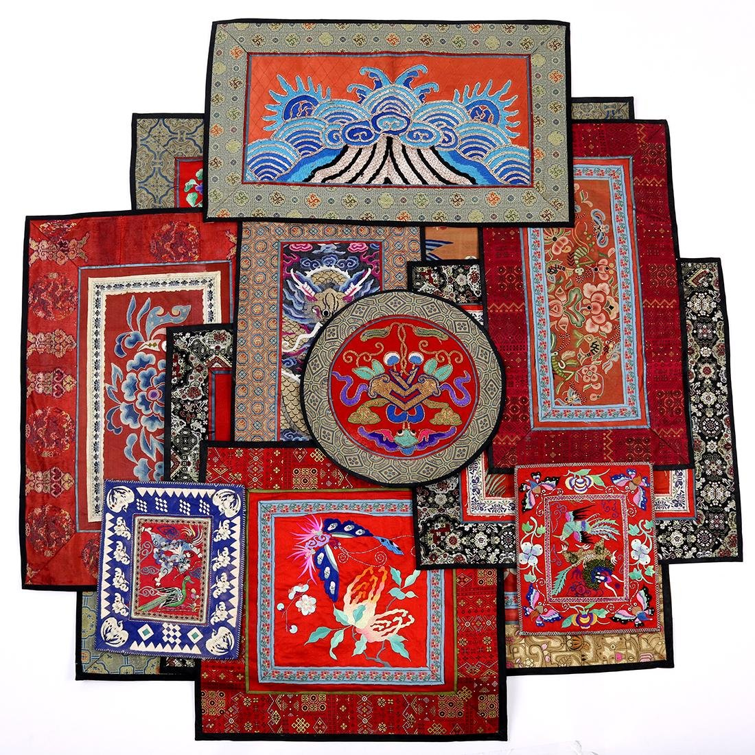 Chinese Textile Fragments - 3