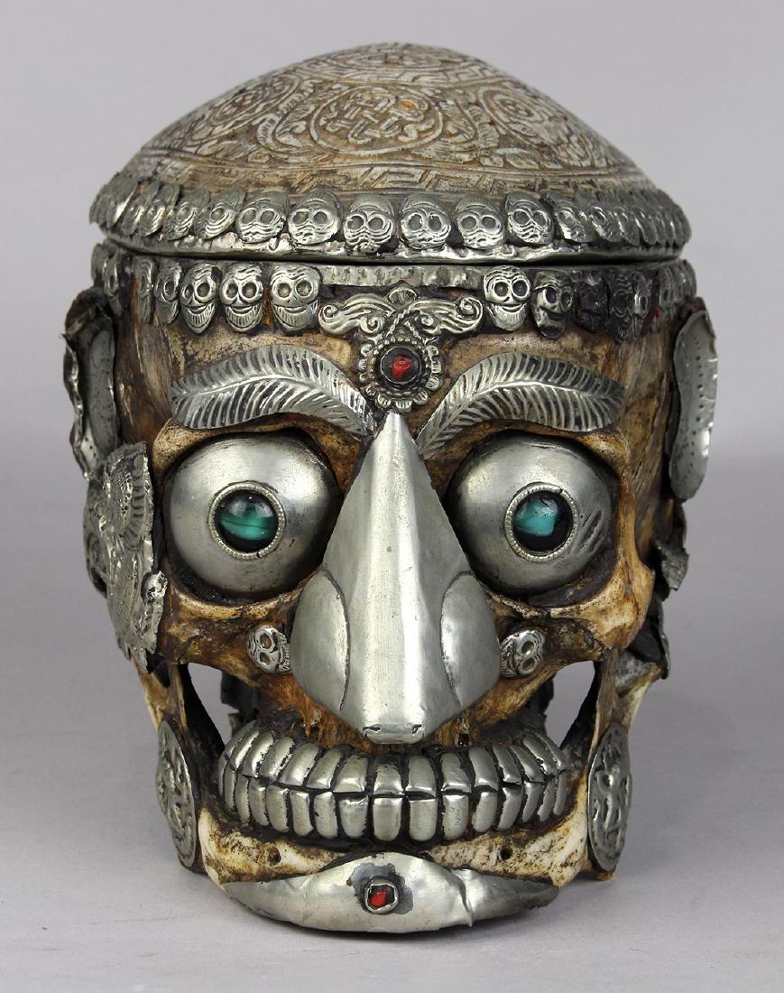 Himalayan Kapala Skull