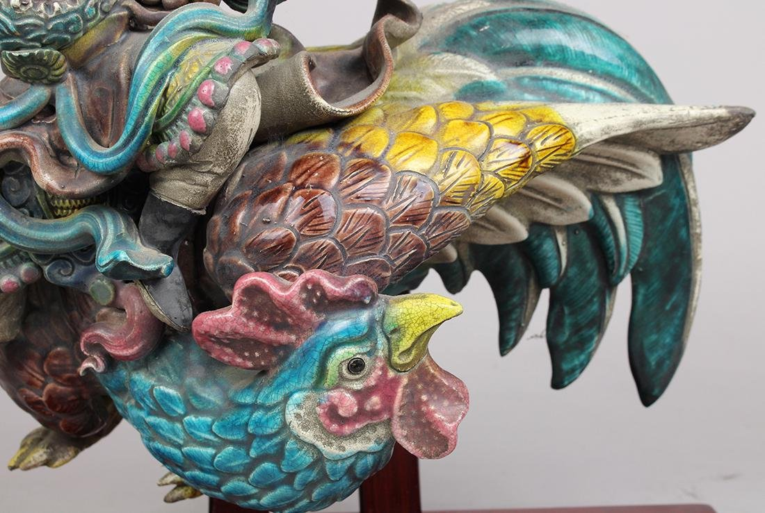 Chinese Ceramic Roof Ornaments - 14