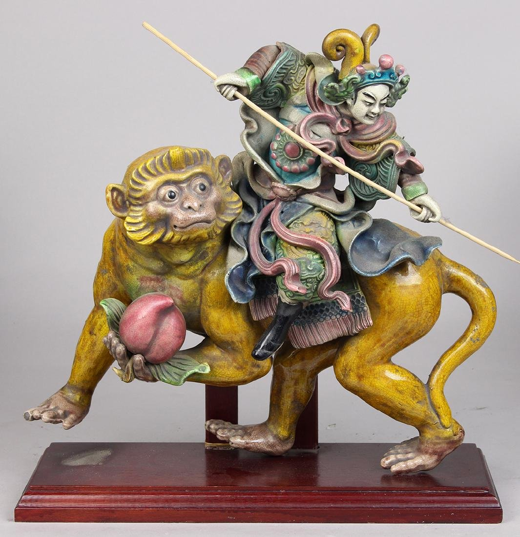 Chinese Ceramic Roof Ornaments - 2
