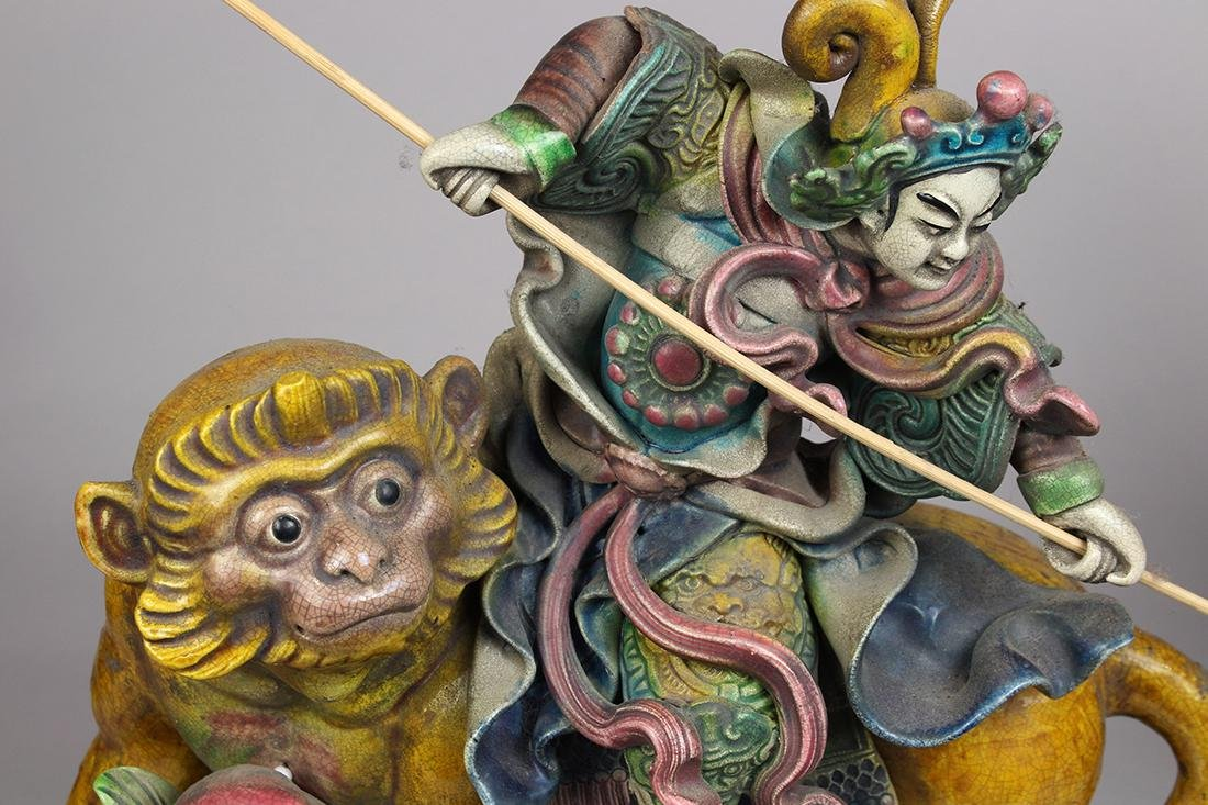Chinese Ceramic Roof Ornaments - 4