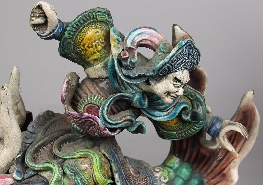 Chinese Ceramic Roof Ornaments - 8