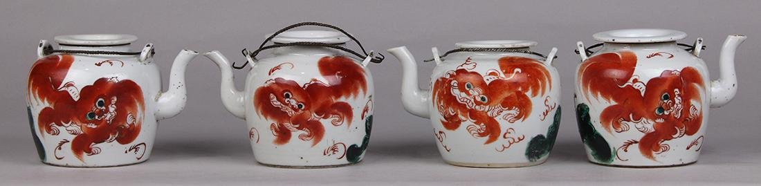 Chinese Porcelain Tea Pots