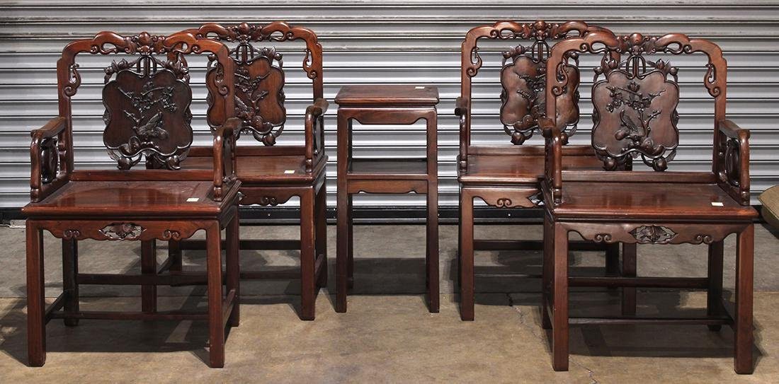 Set of Chinese Armchairs