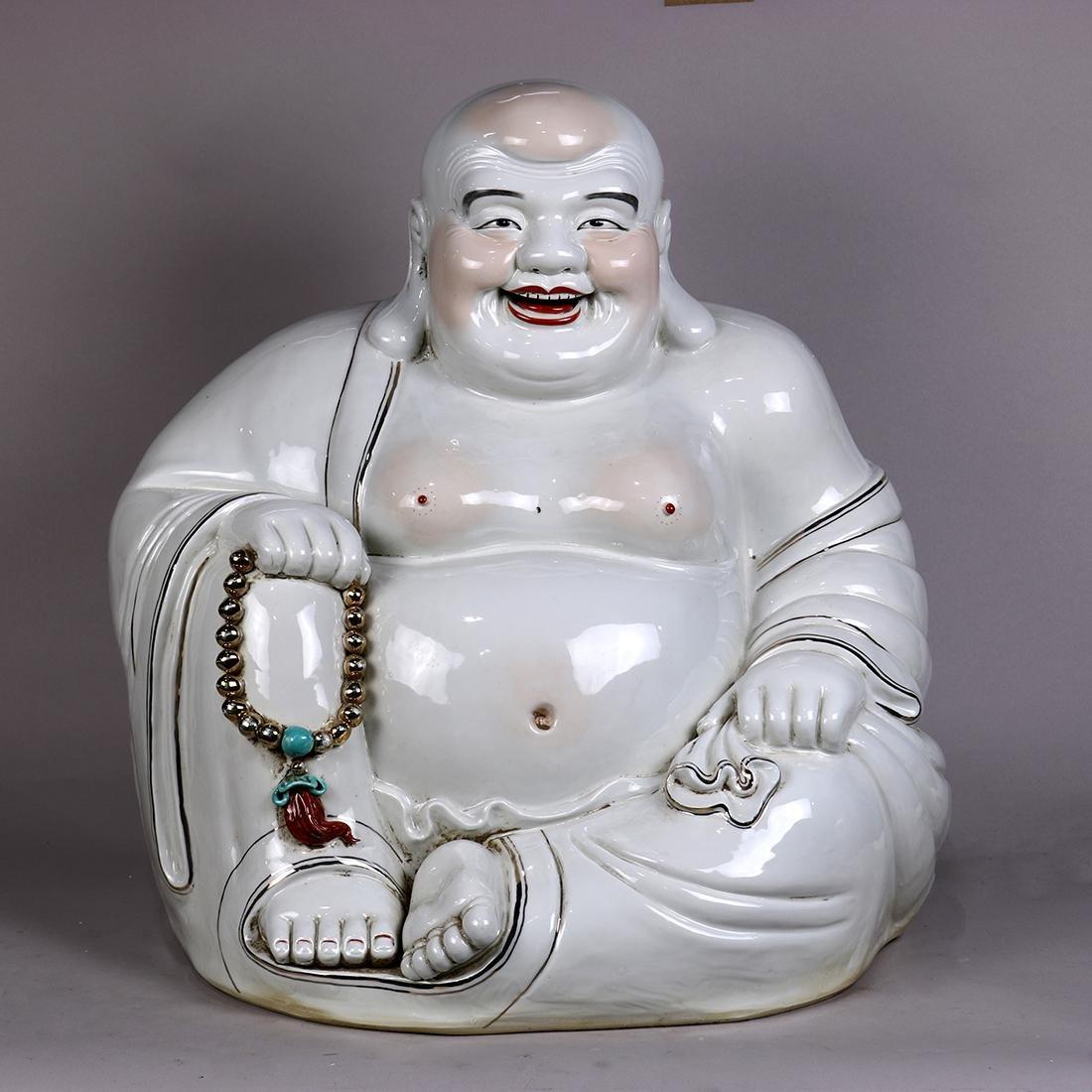 Chinese Large Porcelain Budais