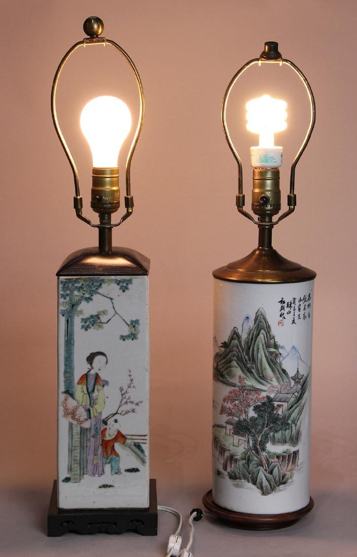 Chinese Hat Stands/Lamps