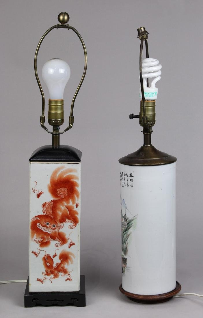 Chinese Hat Stands/Lamps - 3