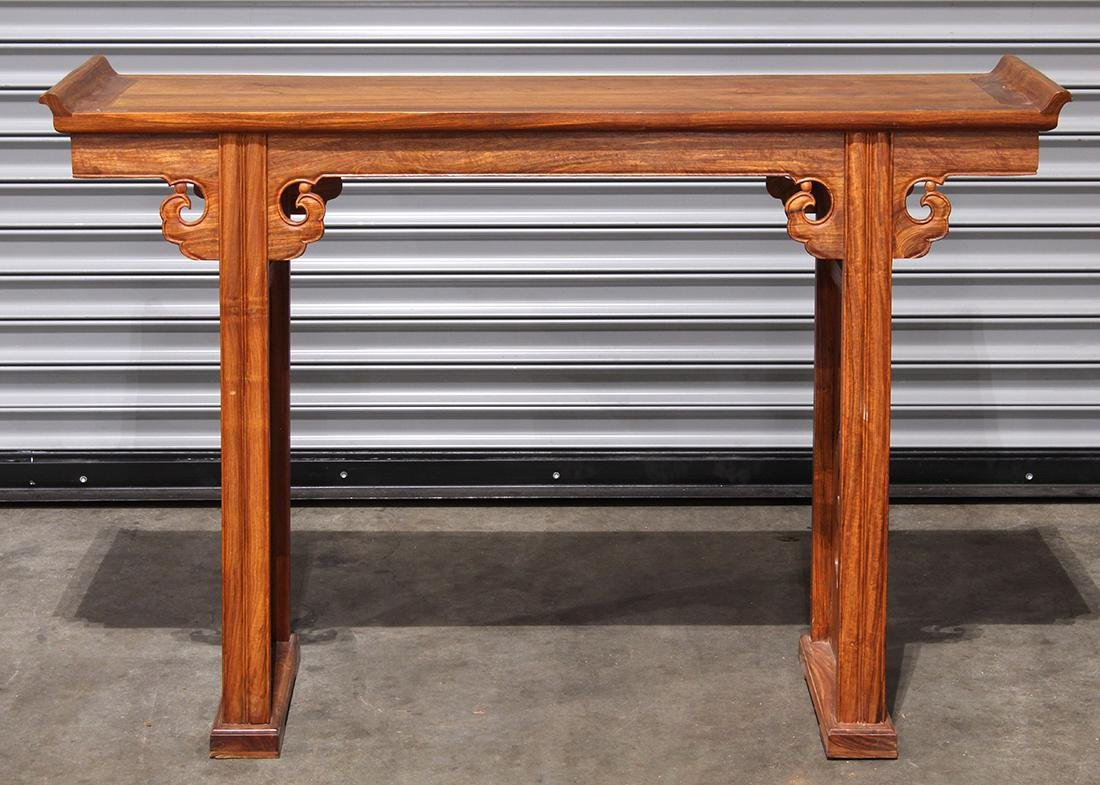 Chinese Hardwood Small Altar Table - 2