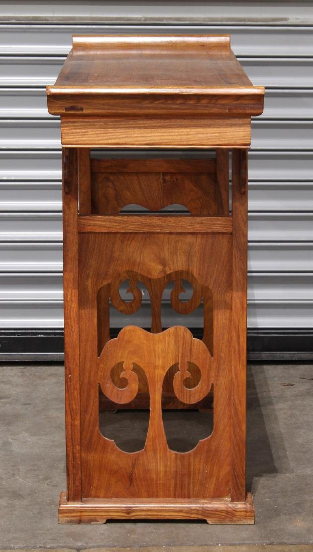 Chinese Hardwood Small Altar Table - 3