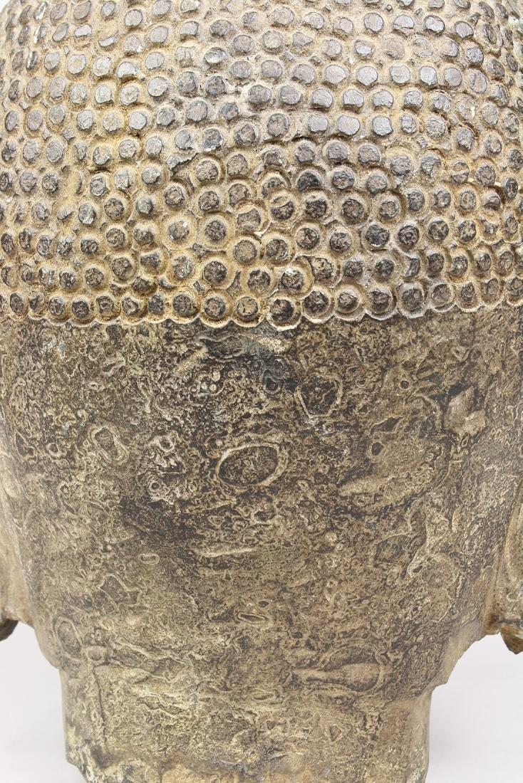Chinese Stone Buddha Head - 8