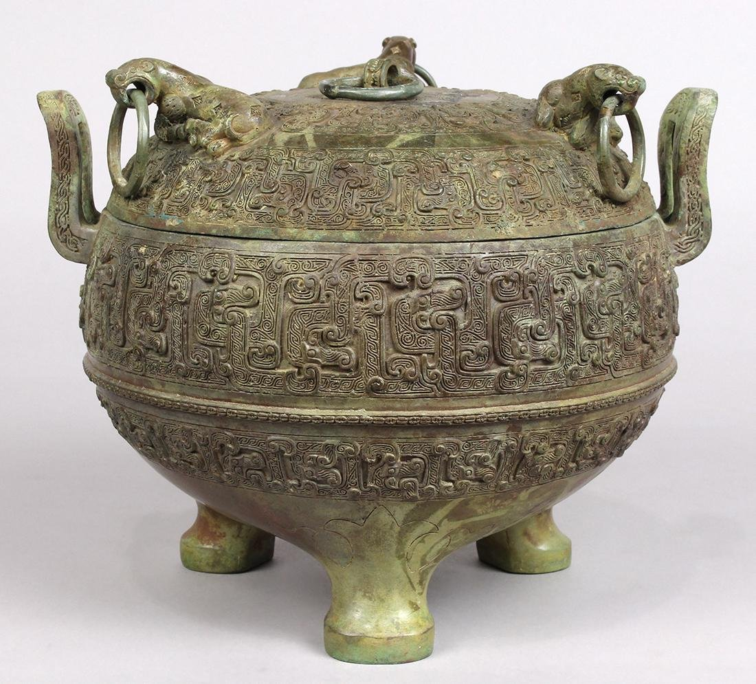 Chinese Archaistic Bronze Ding