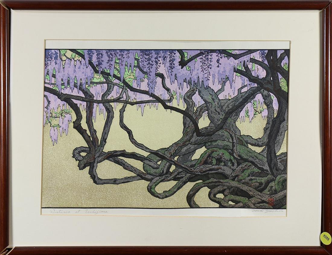 Japanese Woodblock Print, Yoshida Toshi