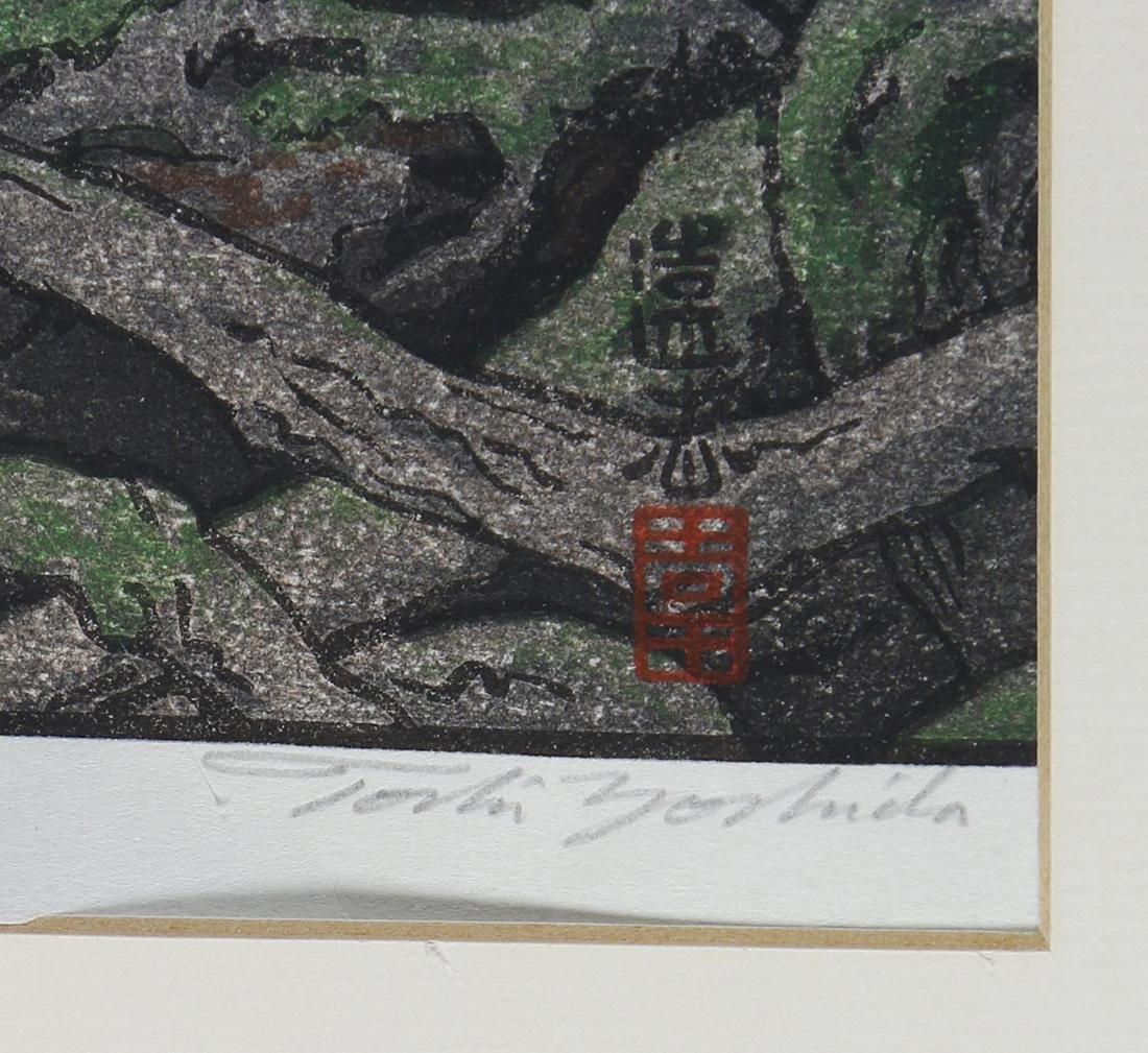 Japanese Woodblock Print, Yoshida Toshi - 2