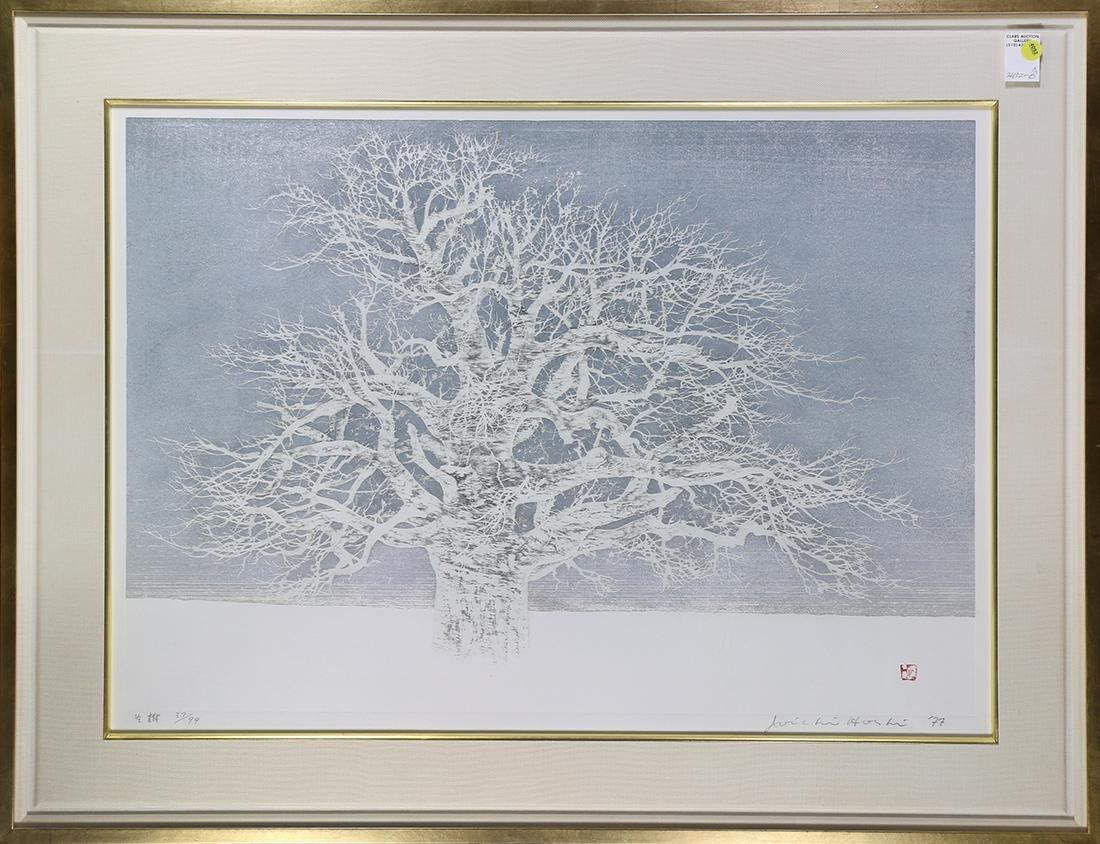 Japanese  Modern Woodblock Print, Hoshi Joichi