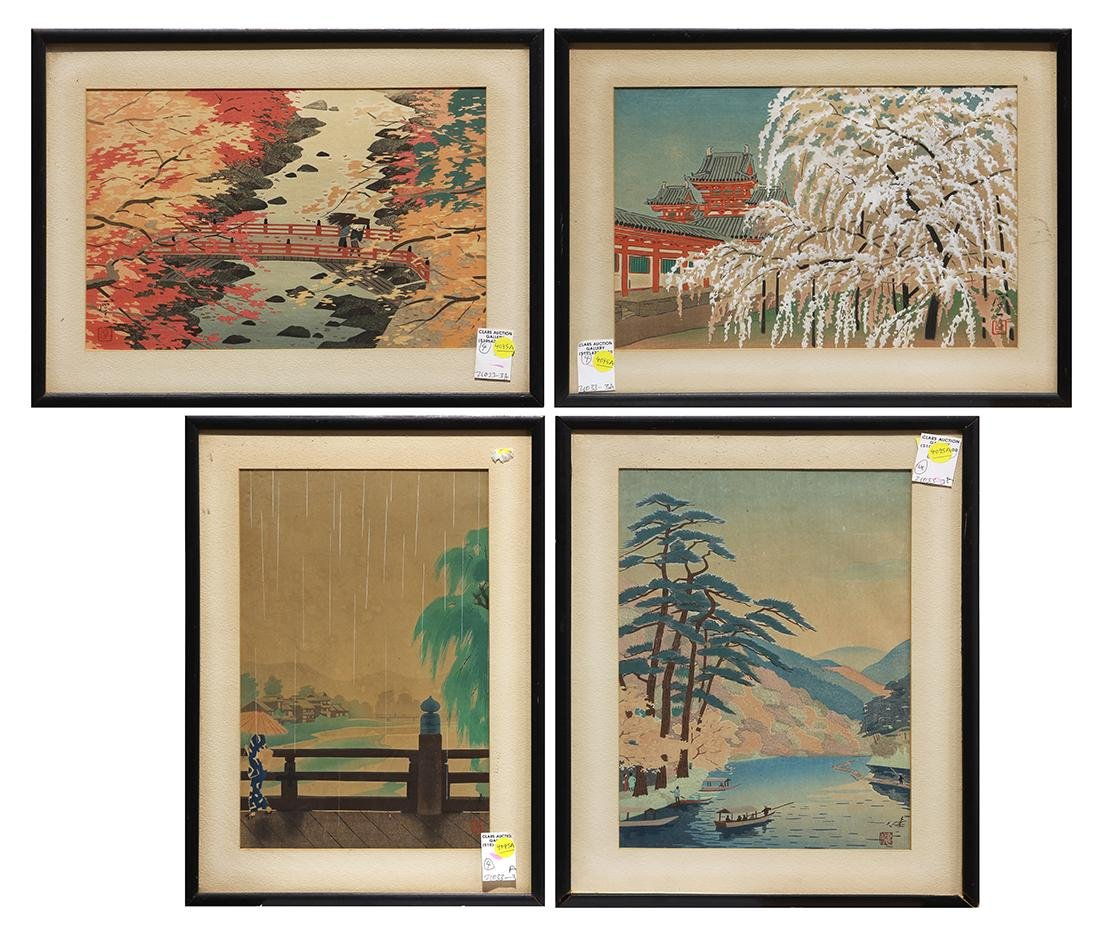 Japanese Modern Woodblock Prints, Okumura, Kawai