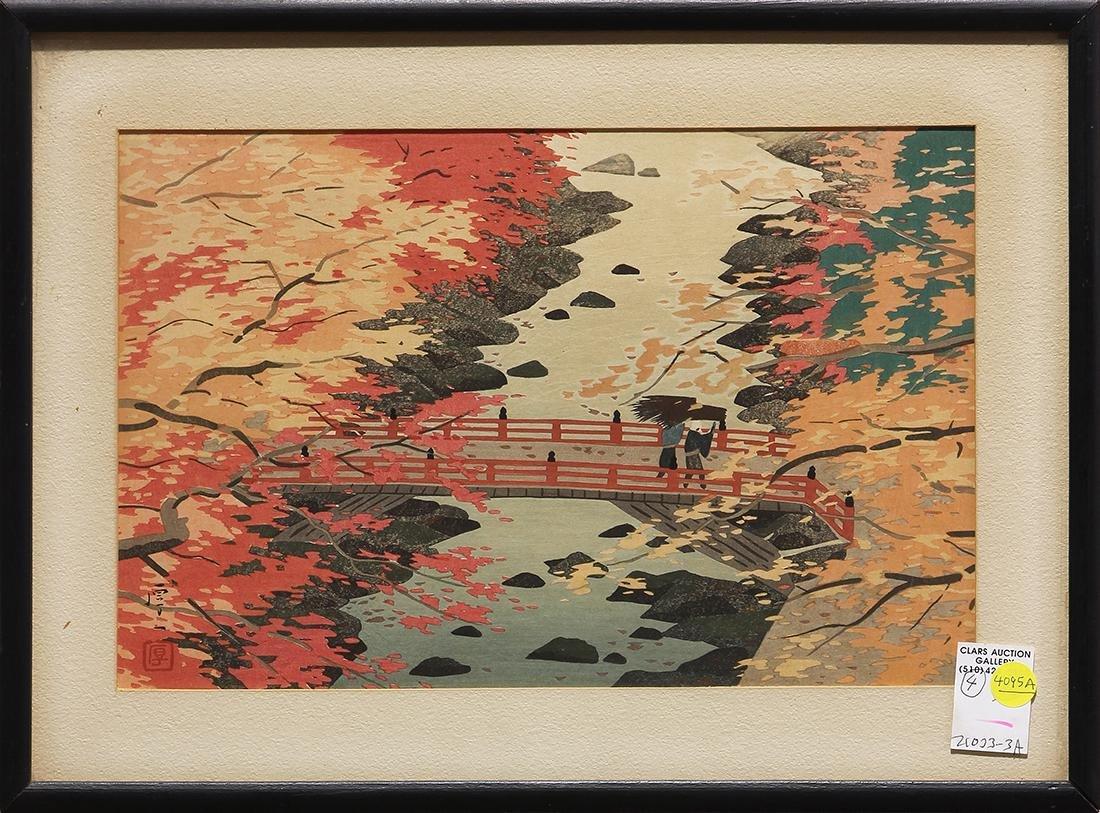 Japanese Modern Woodblock Prints, Okumura, Kawai - 2
