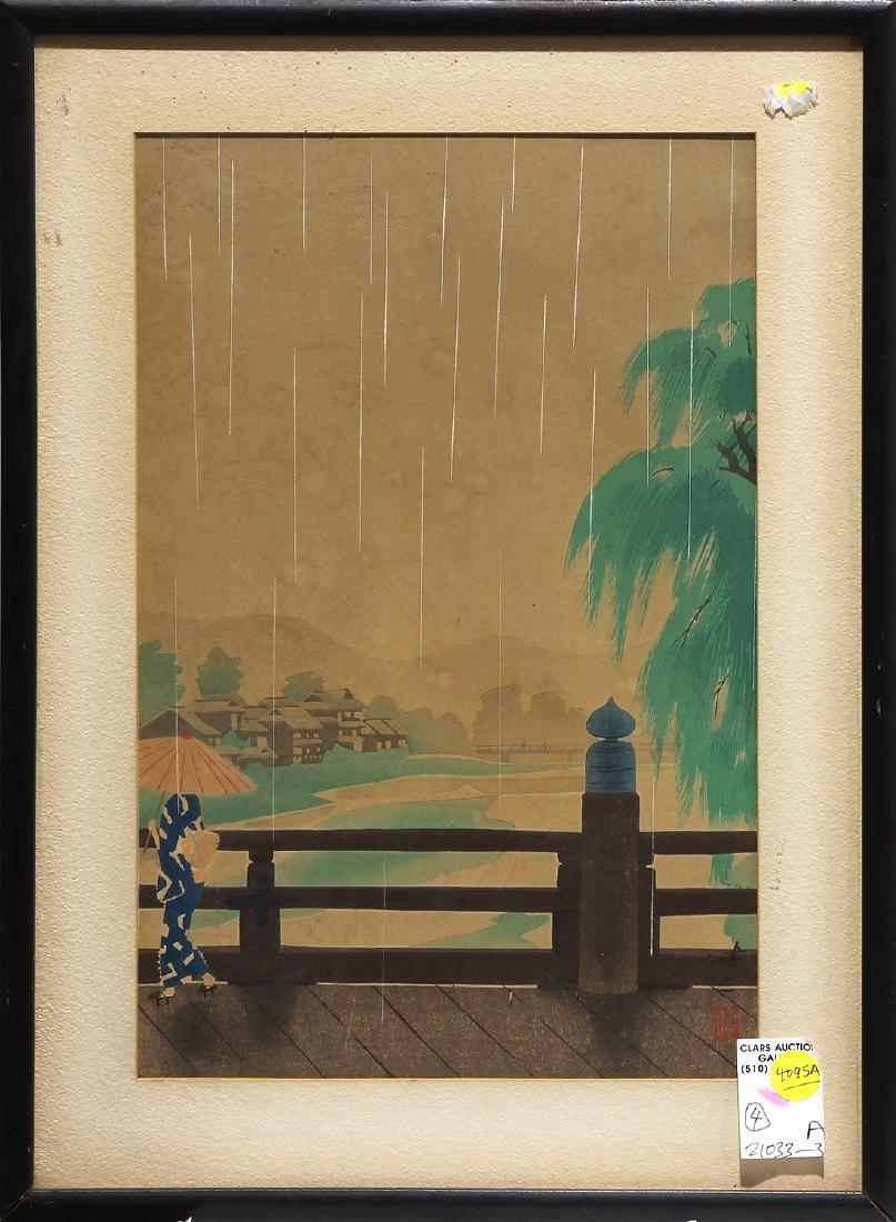 Japanese Modern Woodblock Prints, Okumura, Kawai - 4