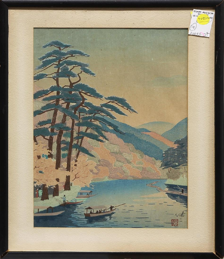 Japanese Modern Woodblock Prints, Okumura, Kawai - 5