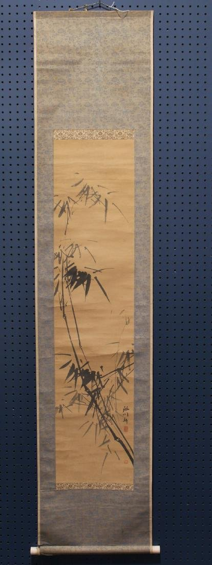 Japanese Scroll, Bamboo
