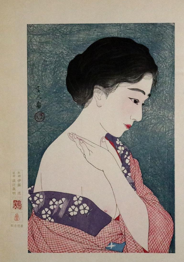 Japanese Woodblock Prints, Bijinga,Torii Kiyotada - 2