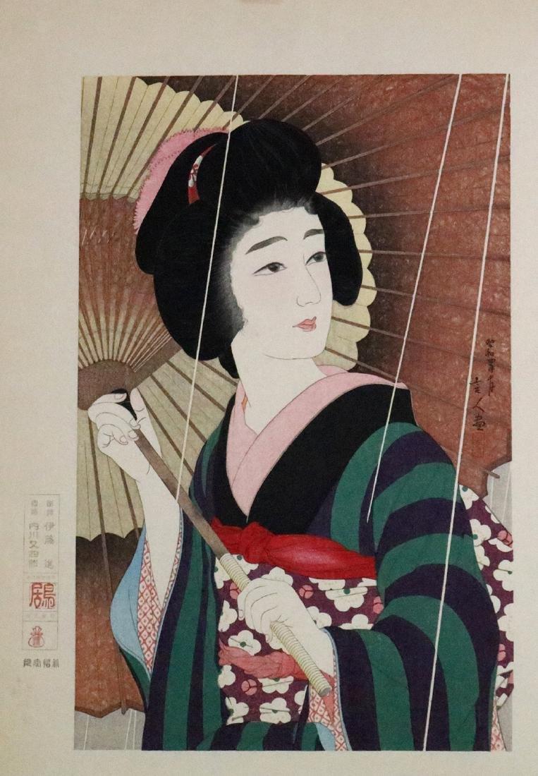 Japanese Woodblock Prints, Bijinga,Torii Kiyotada - 5