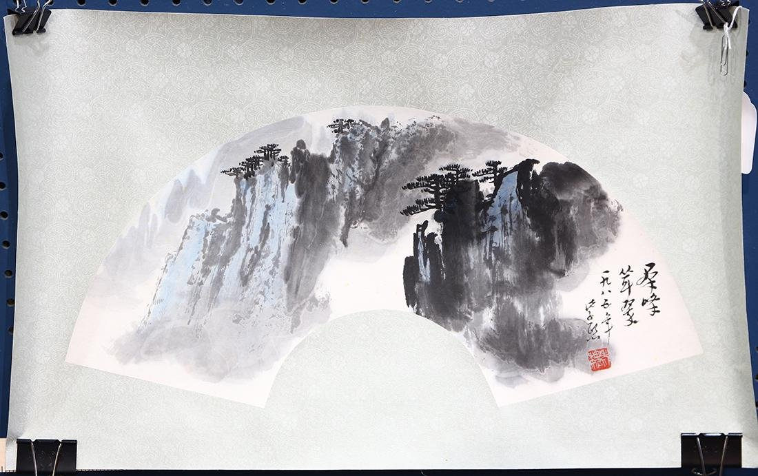 Fan Painting, Attributed to Wei Zixi