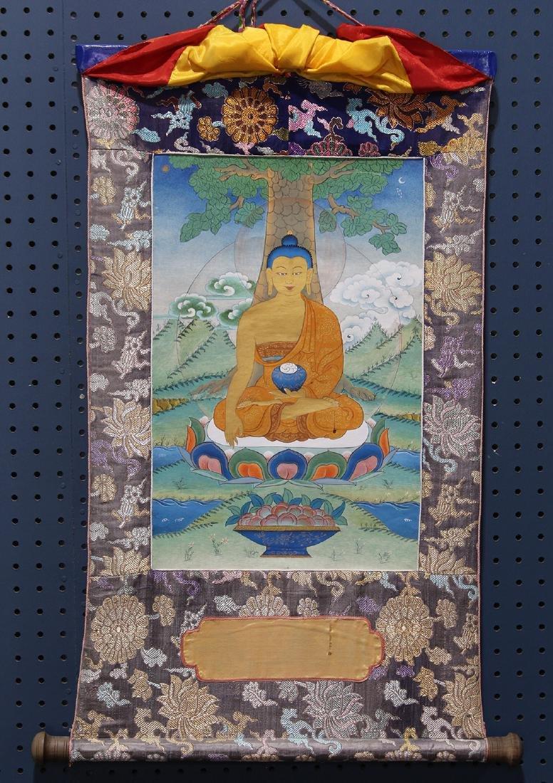 Himalayan Thangka, Buddha