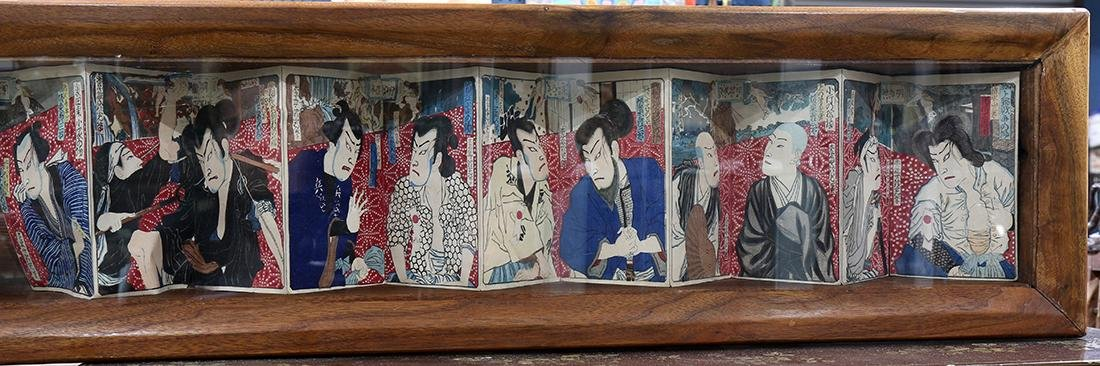 Japanese Kabuki Woodblock Prints, Meiji