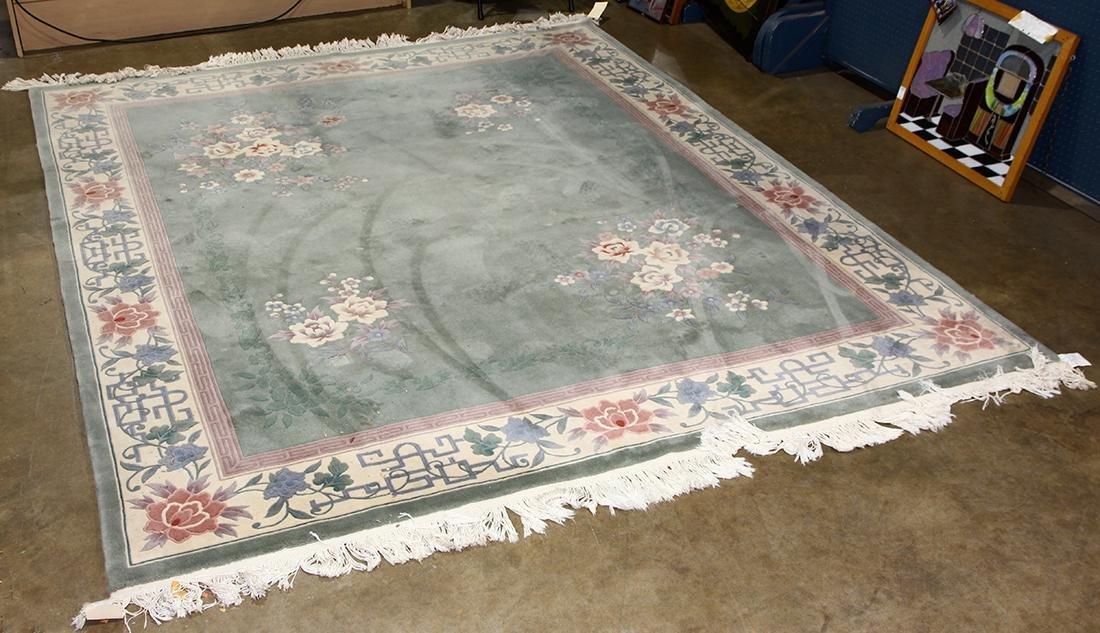 Chinese Floral rug 10' x 8'