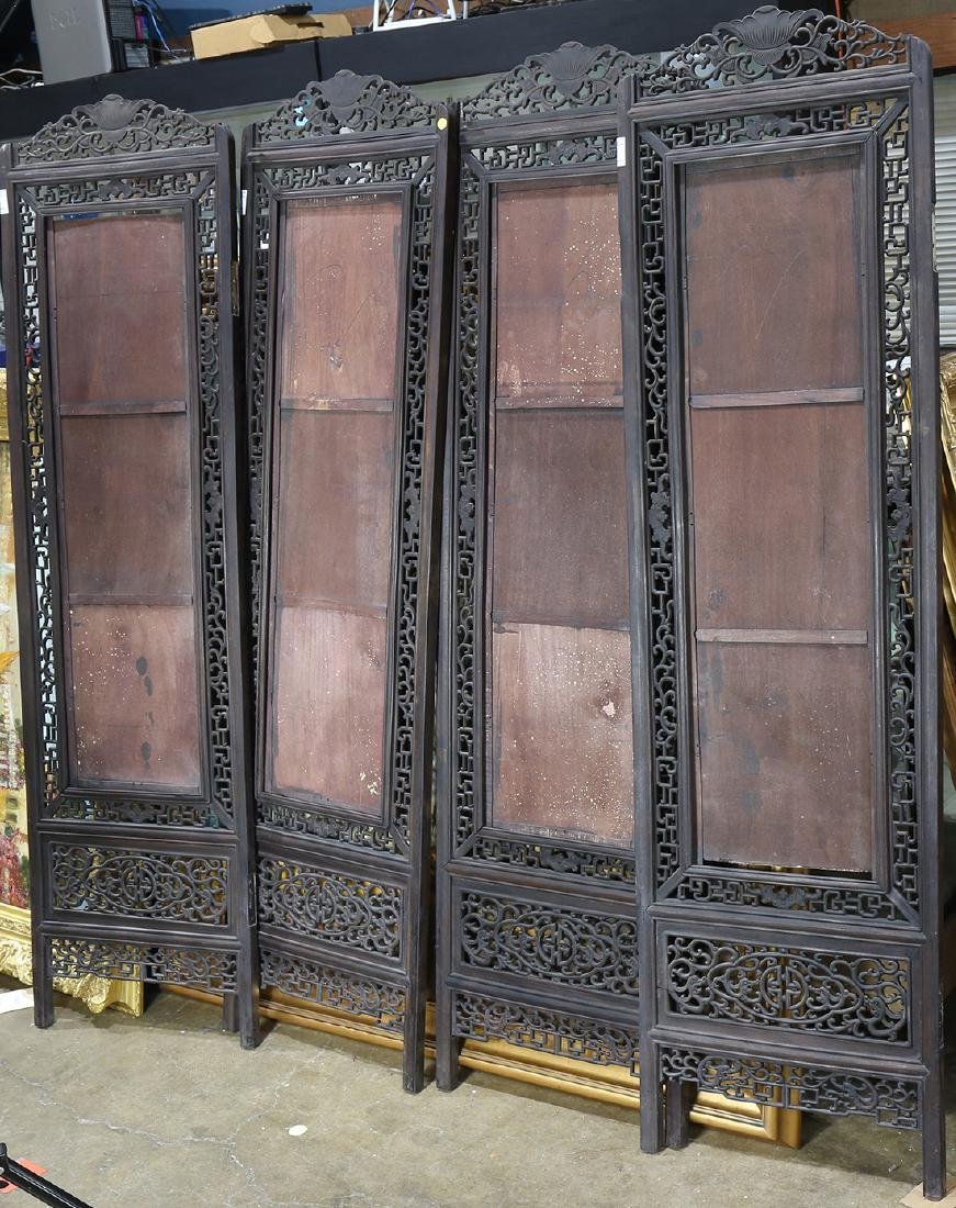 Chinese Wood Screen, Bat