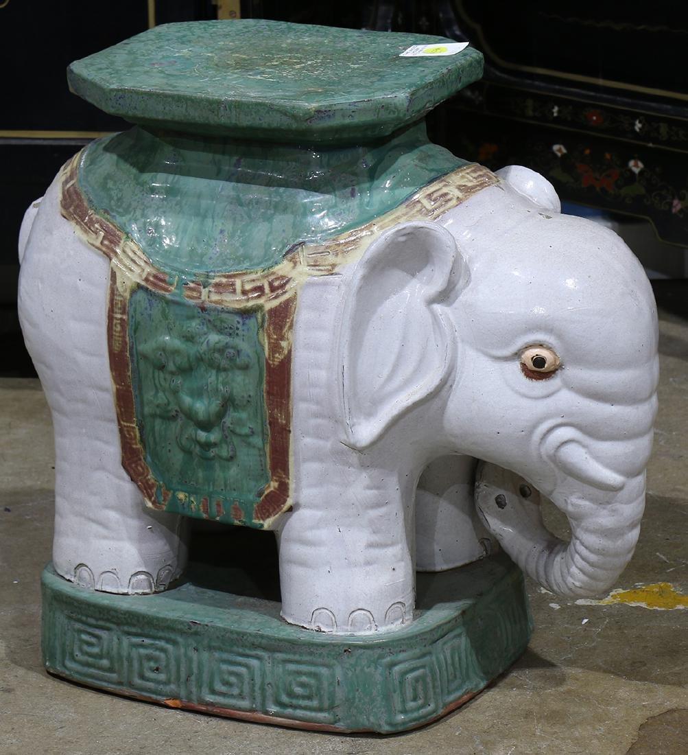 Chinese Elephant Garden Seat