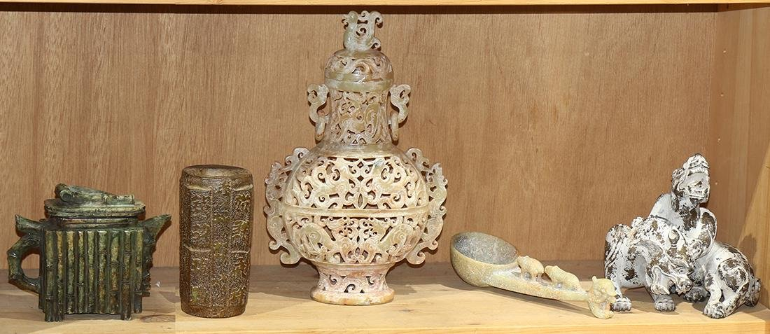 Chinese Archaistic Stone Carving
